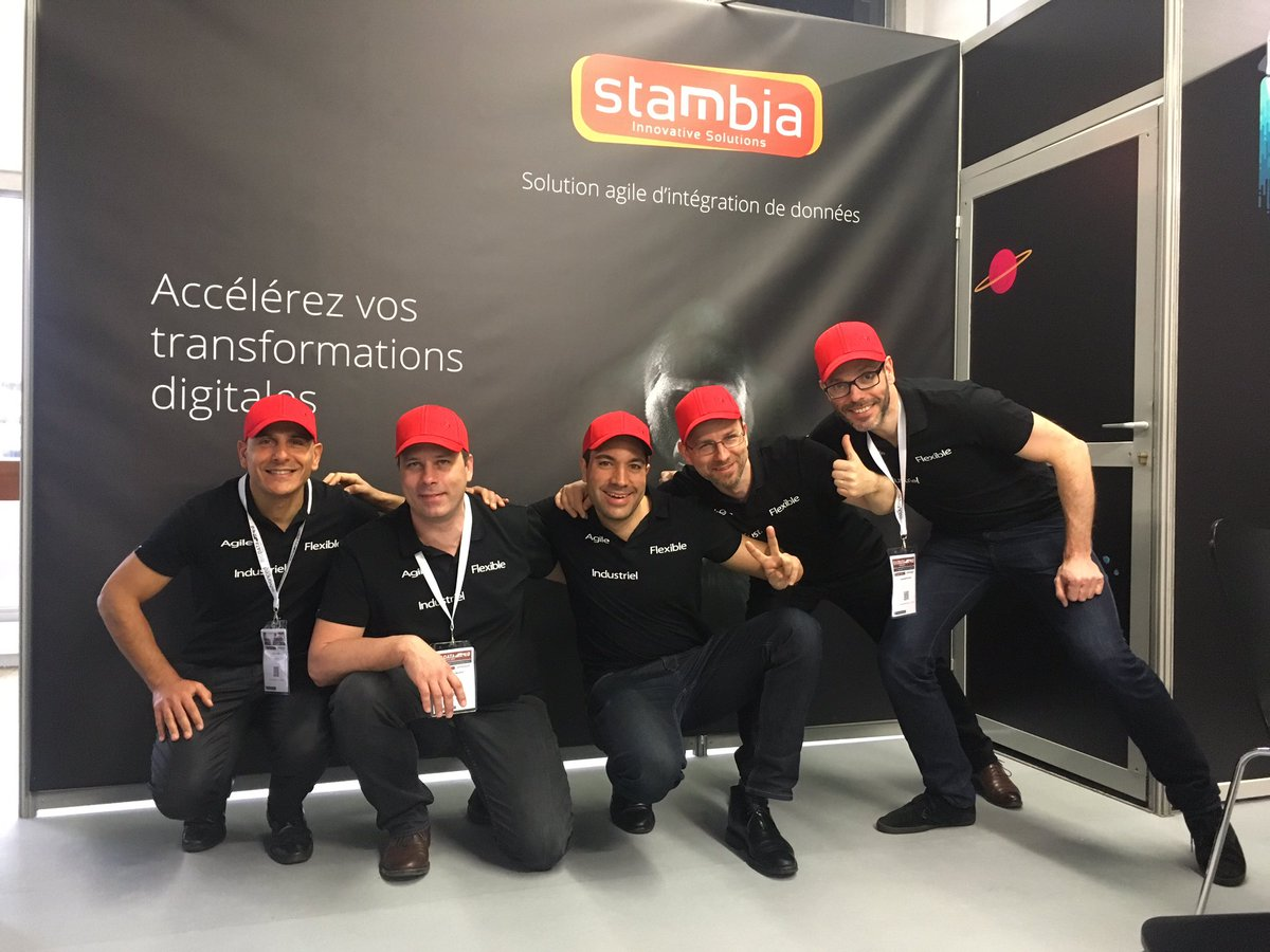 Stambia event team