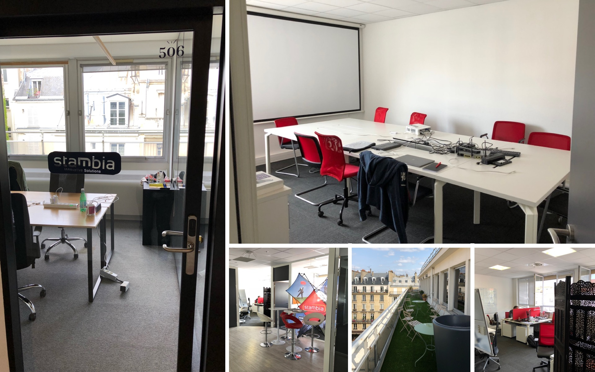 Stambia offices lyon paris france
