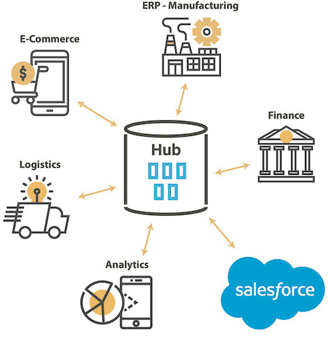 Customer Data Hub Salesforce CRM integration