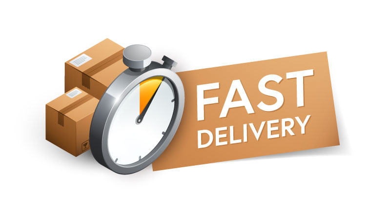 fast delivery data events